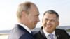 Tatarstan -- Rustam Minnikhanov and Putin