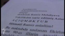 «Ramiz Mehdiyev istefa versin, mən də...»
