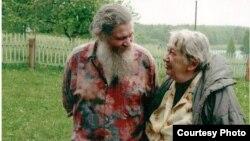 Марина Салье с отцом Георгием