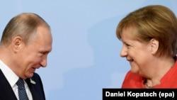 Susret Merkel i Putina uoči samita