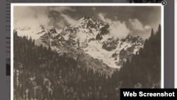 """Пик Нурсултан на этой фотографии, размещенной на сайте """"Энциклопедия Алматы"""", может отыскать только альпинист или горный турист."""