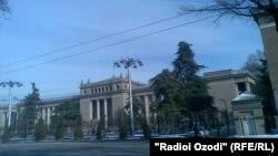 Душанбе қаласының көрінісі. (Көрнекі сурет)