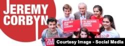 Джереми Корбин и его юные сторонники