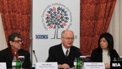 Прес-конференција на набљудувачите на ОБСЕ/ОДИХР.