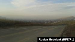 Смог над Усть-Каменогорском. 6 ноября 2014 года.