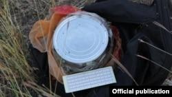 При ликвидированном члене МТО было обнаружено самодельное взрывное устройство