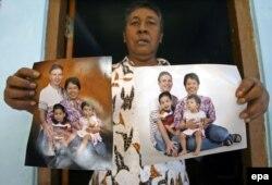 Этот малайзиец потерял 17 июля 2014 года 4 родственников, в том числе 2 детей