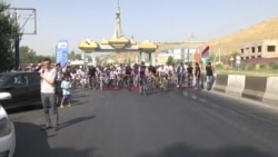 В Дангаре на месте теракта установлен памятник-велосипед