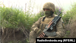 Військовослужбовець ЗСУ з позивним «Док»