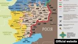 Ситуація в зоні бойових дій на Донбасі, 13 січня 2015 року
