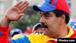 Виконувач обов'язків президента і кандидат у президенти Ніколас Мадуро