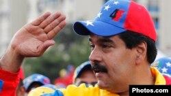 Виконувач обов'язків президента Венесуели Ніколас Мадуро під час виборчої кампанії