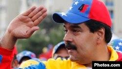 Исполняющий обязанности президента Венесуэлы Николас Мадуро.