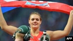 Sandra Perković slavi pobjedu