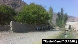 Спорная территория на таджикско-кыргызской границе.