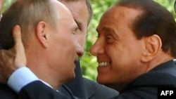 """Just don't kiss and tell, Silvio."""