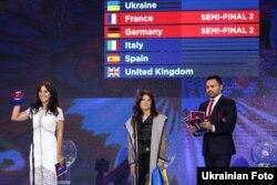Жеребкування «Євробачення-2017» визначило, хто з 43-х країн-учасниць буде виступати в першому, а хто у другому півфіналі