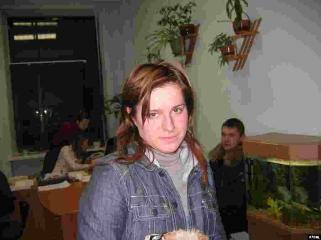 Тацяна Цішкевіч у судзе, Менск, 11 студзеня