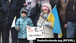 Pamje e sotme para Ambasadës së SHBA-ve në Kiev të Ukrainës