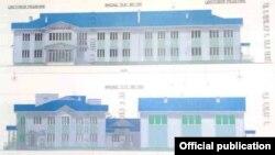 Проект новой школы в селе Кенеш.