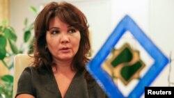 """Үміт Шаяхметова, """"Халық банктің"""" басқарма төрағасы."""