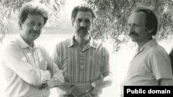 Слева направо: Михаил Горынь, Левко Лукьяненко, Вячеслав Чорновол. Архивное фото