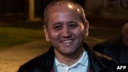 Мухтар Аблязов після звільнення з ув'язнення у Франції, 9 грудня 2016 року