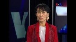 Лауреат Нобелевской премии мира Аун Сан Су Чжи