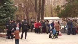 В Армянске не разрешили провести экологический пикет (видео)