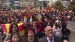 Papa Françesku mban liturgji në Shkup