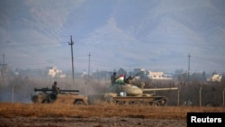 Borbe za Mosul, ilustracija