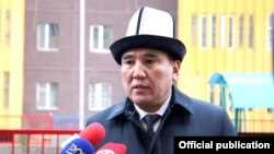 Мэр города Оша Таалайбек Сарыбашов.
