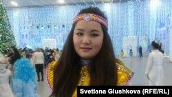 Әсел Сапарәлиева, балалар үйінің тәрбиеленушісі. Астана, 20 желтоқсан 2013 жыл