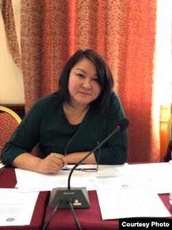 Бермет Барыктабасова.
