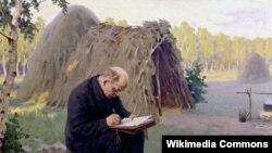 М.Г.Сакалоў, «У.І. Ленін у падпольлі» (1947).