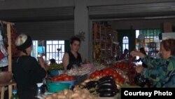 Poti's central market