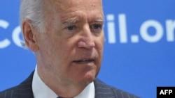 Joe Biden gjatë fjalimit të sotëm në Këshillin Atlantik në Uashington