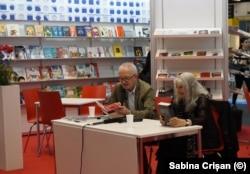 Nora Iuga și Ernest Wichner