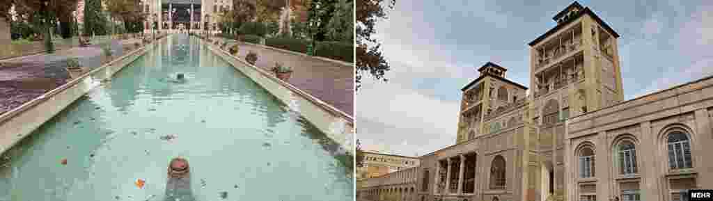 Фарсы архитектурасында XVIII һәм XIX гасырның көнбатыш йогынтысы да сизедә. Сарайның иң борыңгы өлешенә 400 ел.