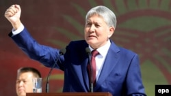 "Kyrgyz President Almazbek Atambaev will remain under medical supervision for ""some time."""