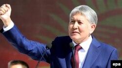 Выступление президента Атамбаева на торжествах по случаю Дня независимости