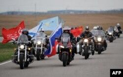 """""""Ночные волки"""" под Минском. 26 апреля"""