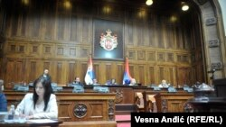 Parlament Srbije raspravlja o Zakonu o ministarstvima