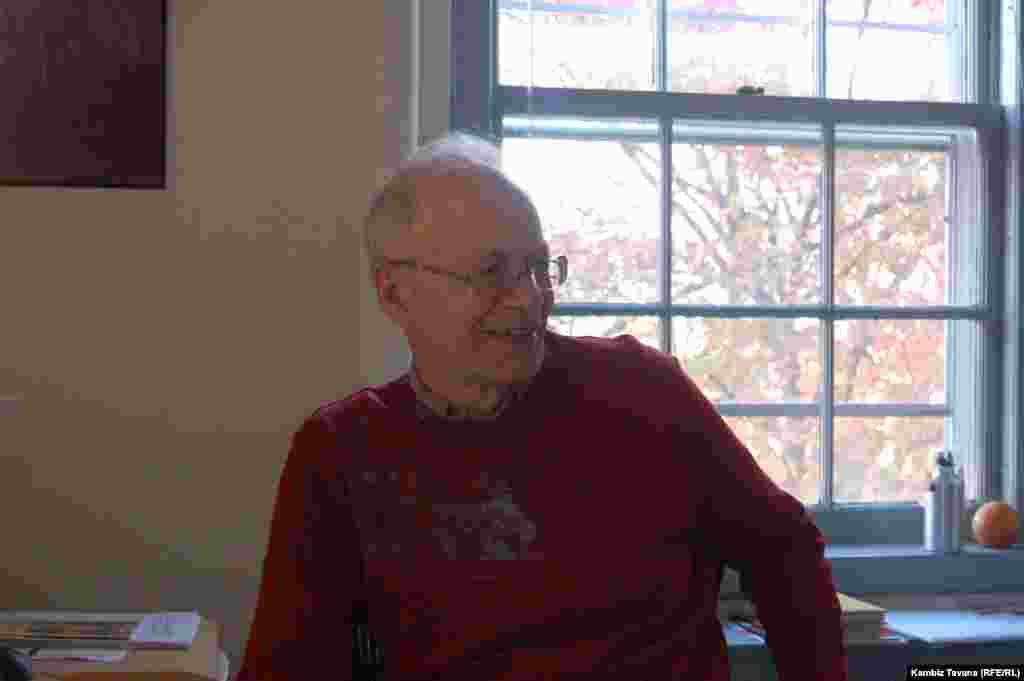 Peter Singer - Interview in his office with Radio Farda