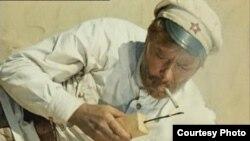 """Лаҳзае аз филми маъруфи Владимир Мотил - """"Офтоби сафеди биёбон"""""""