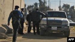 قوات أمن تابعة للداخلية في بغداد