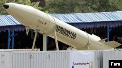 Предыдущая модификация ракеты, Fateh-100