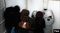 دختران جوان دستگیرشده در میهمانی