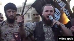 """Lavdrim Muhaxheri u video snimku poziva Albance da se pridruže """"Islamskoj državi"""""""