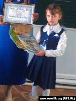 Согдиана Османова является отличницей в своей школе.
